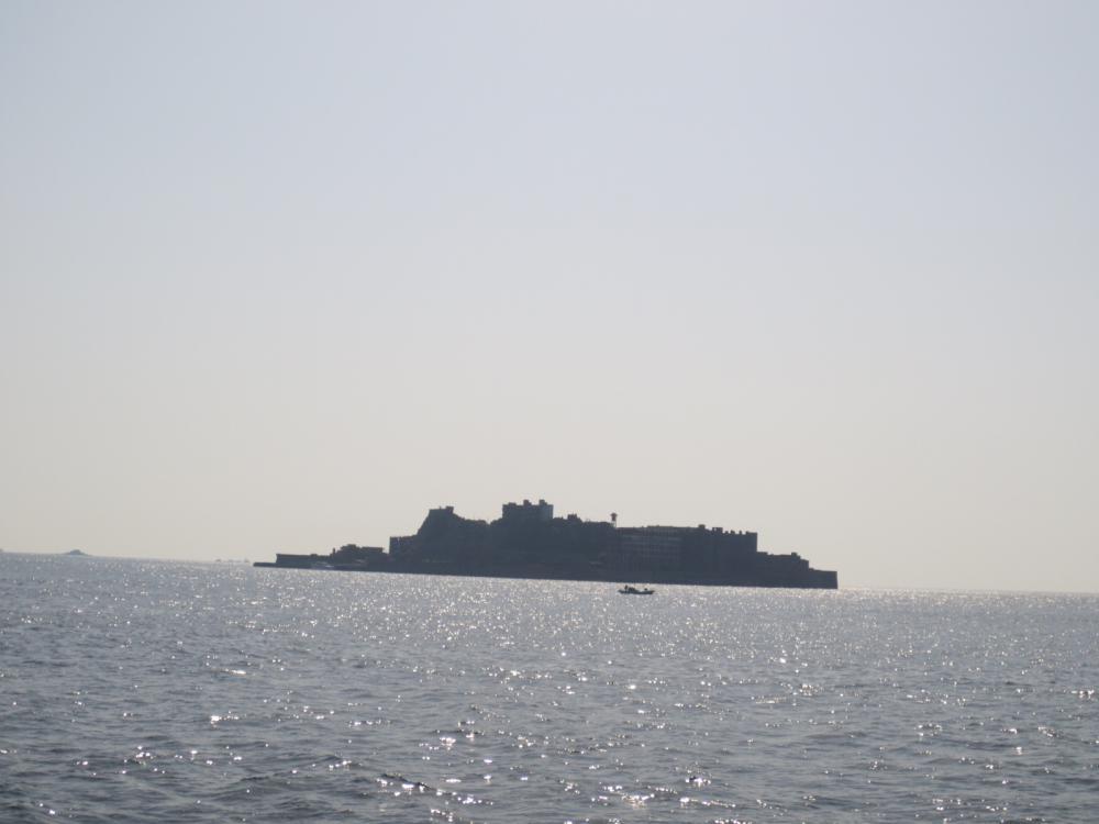 まさに…軍艦島