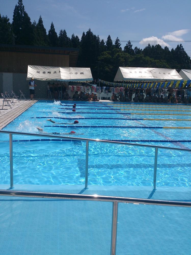 ★石屋のおっか★水泳大会