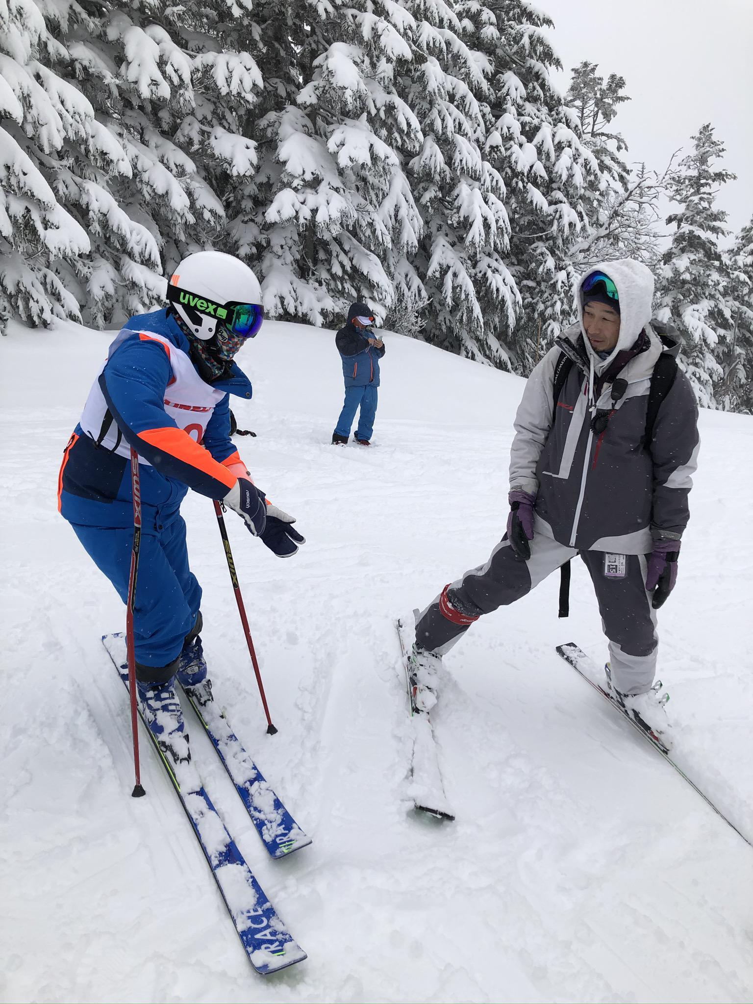 ★石屋のおっか★県中学校スキー大会