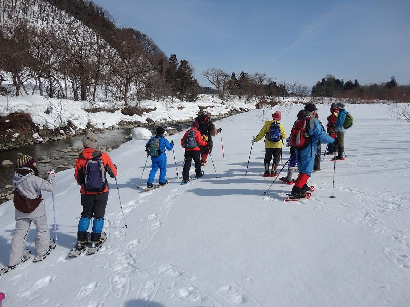 冬の清流ウォーキングを開催します。