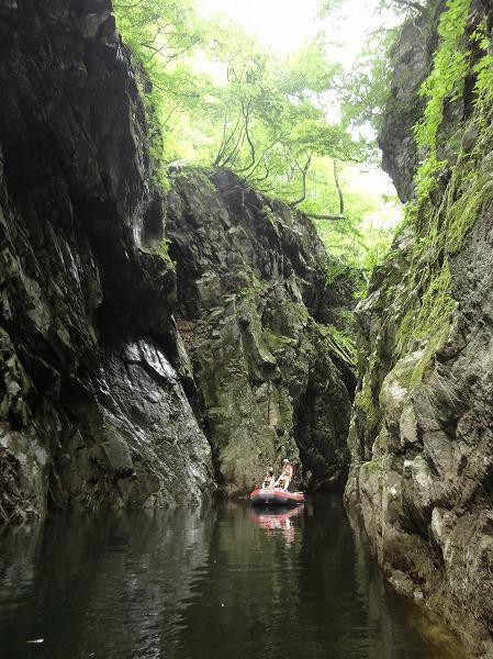 7月28日から4日間運航!三淵渓谷ボートツーリング