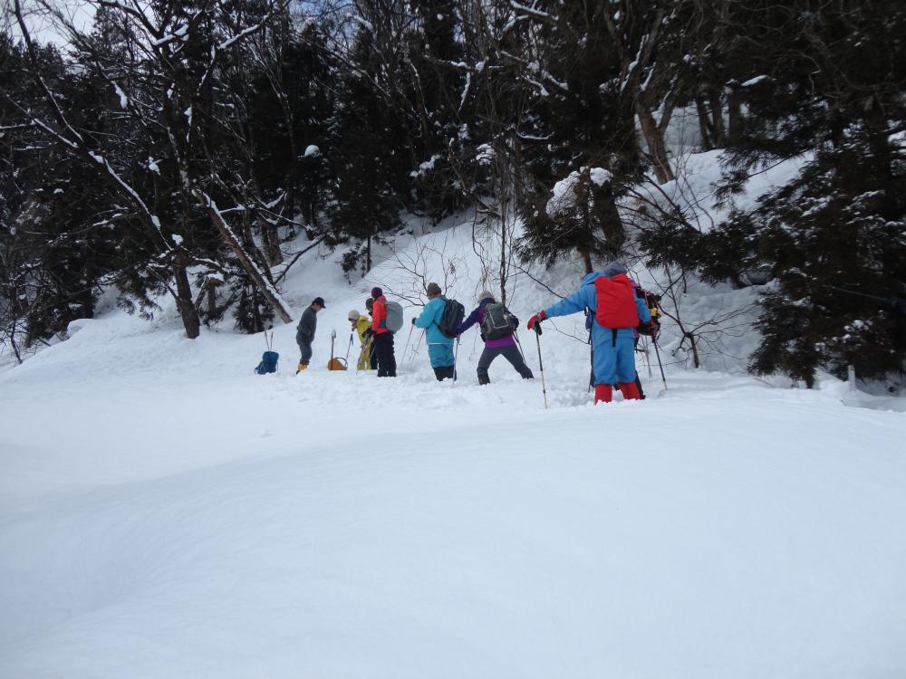 ひのき峰スノートレッキングを開催します