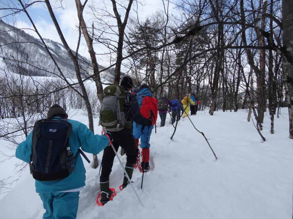 熊野山スノートレッキングを開催します。:画像