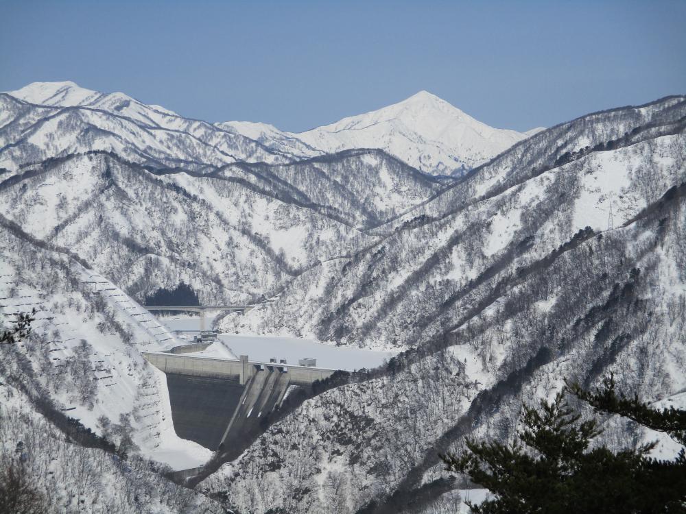 【3/3】熊野山から見る冬景色:画像