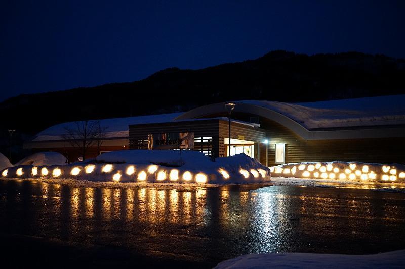 ながい雪灯り回廊*まちとダムをつなぐスノーランタン:画像