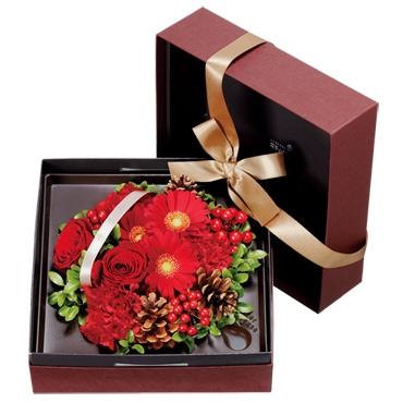 2012/12/13 22:52/特別なクリスマスギフトは花キューピットで!!
