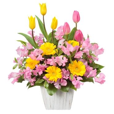 """2014/01/02 13:54/今年もまっすぐに・・""""こころにとどく""""花贈り 花キューピットやまがた"""