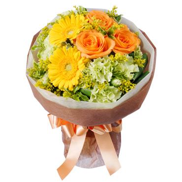 2014/02/25 16:11/卒業のお祝いに花キューピットの花贈り。 お得な3月にどうぞ!