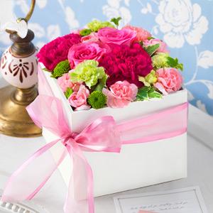 2015/04/23 22:33/母の日の贈り物は 今年も花キューピットですね! (^O^)/