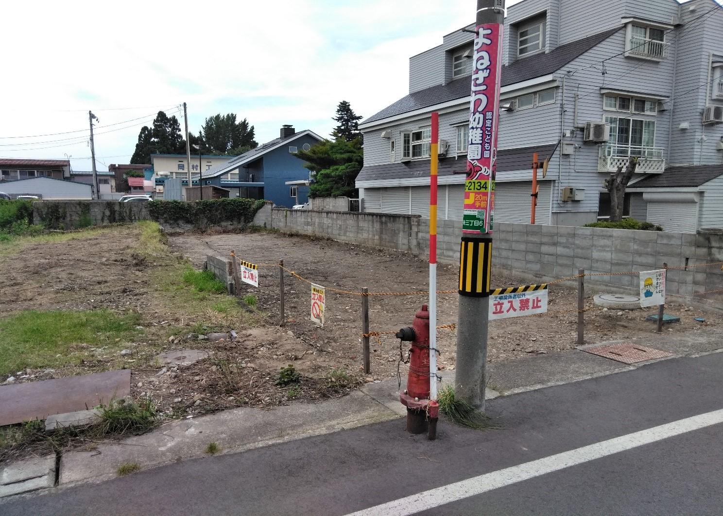 【住宅用地】米沢市中央3丁目 �A-42232:画像