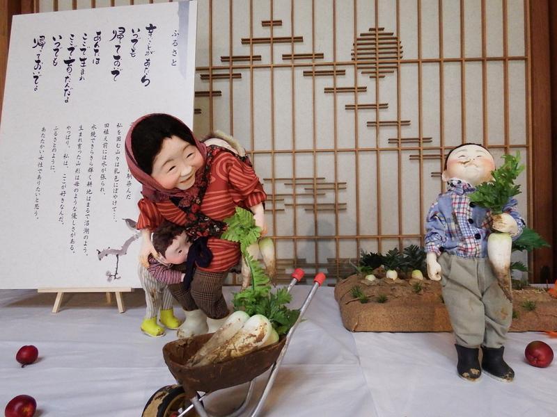 ~「いのち 家族 ぬくもり」大滝博子創作人形展~開催中です