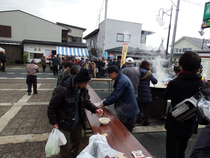 "News of 2017 ""Yamanobe-machi first market"" holding"