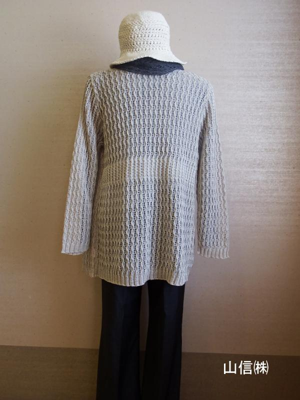 Fashion knit << Yamanobe Knit of August >> of my town pride