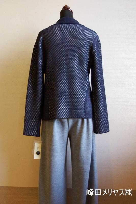 Fashion knit << Yamanobe Knit of February >> of my town pride