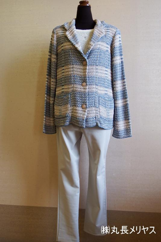 Fashion knit << Yamanobe Knit of March >> of my town pride
