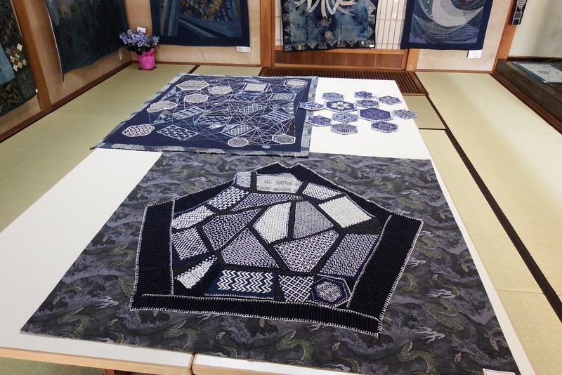 ふるさと資料館『高橋弘子・遠藤愛子姉妹展 パッチワーク 刺し子 古布の世界』