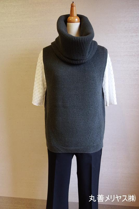 Fashion knit << Yamanobe Knit of September >> of my town pride