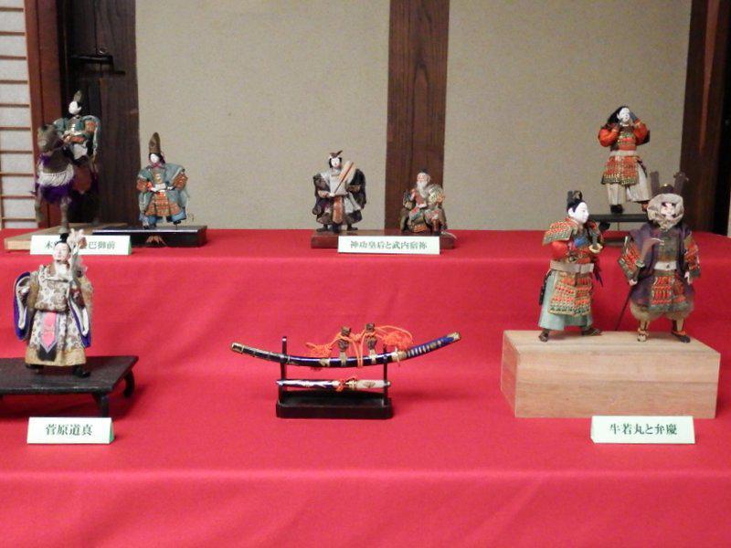 ふるさと資料館「五月人形展」開催中