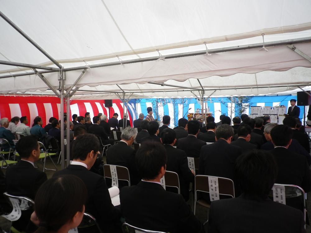 【安全祈願祭】米沢市新道の駅新設工事
