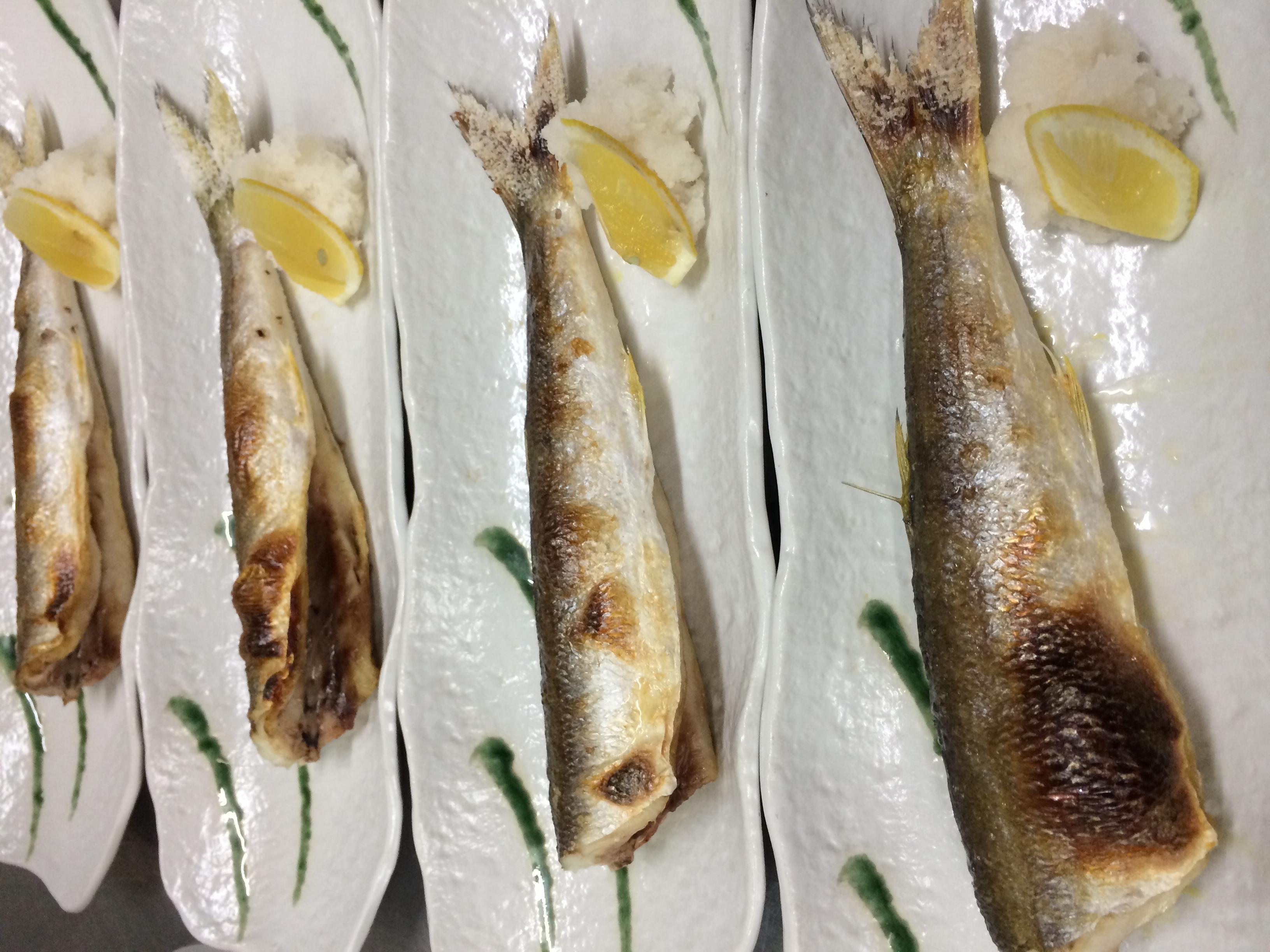 ★味よしムービー「かますの焼き魚、旨いですよ!!」:画像