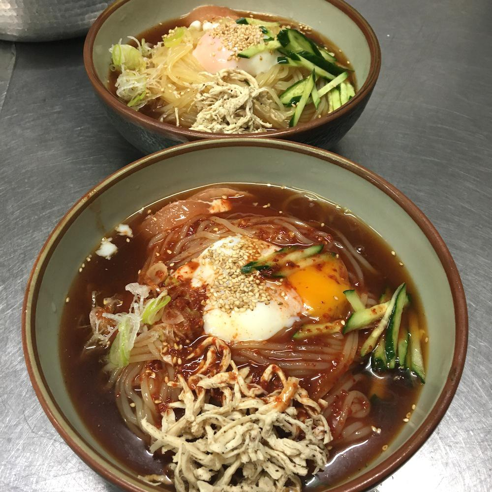 ★味よし「好評発売中!!冷麺です(^^♪」:画像