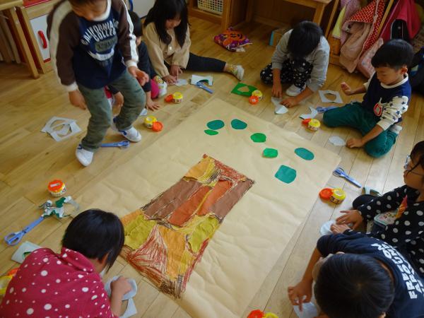 柿のいっぱい実らせよう!!(11/8)