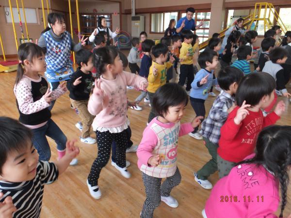 ダンス楽しいね!!