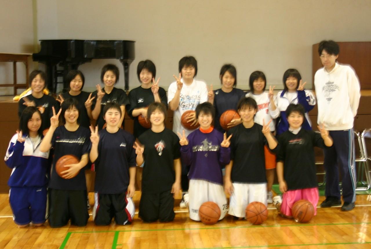 【応援しています9】女子バスケ 新人戦 勝って来るぞ:画像