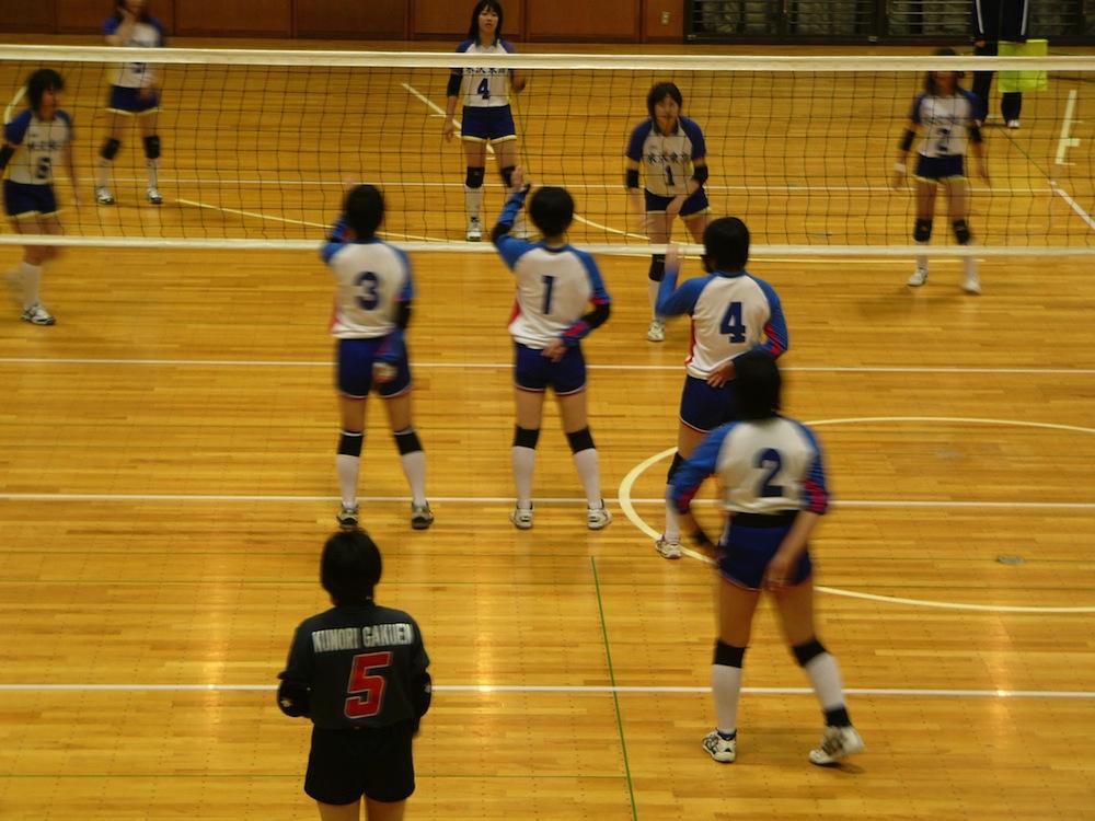 【応援しています13】がんばれ九里バレーボール:画像