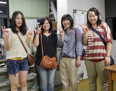 【ようこそ卒業生47】バスケ仲良し4人娘:画像