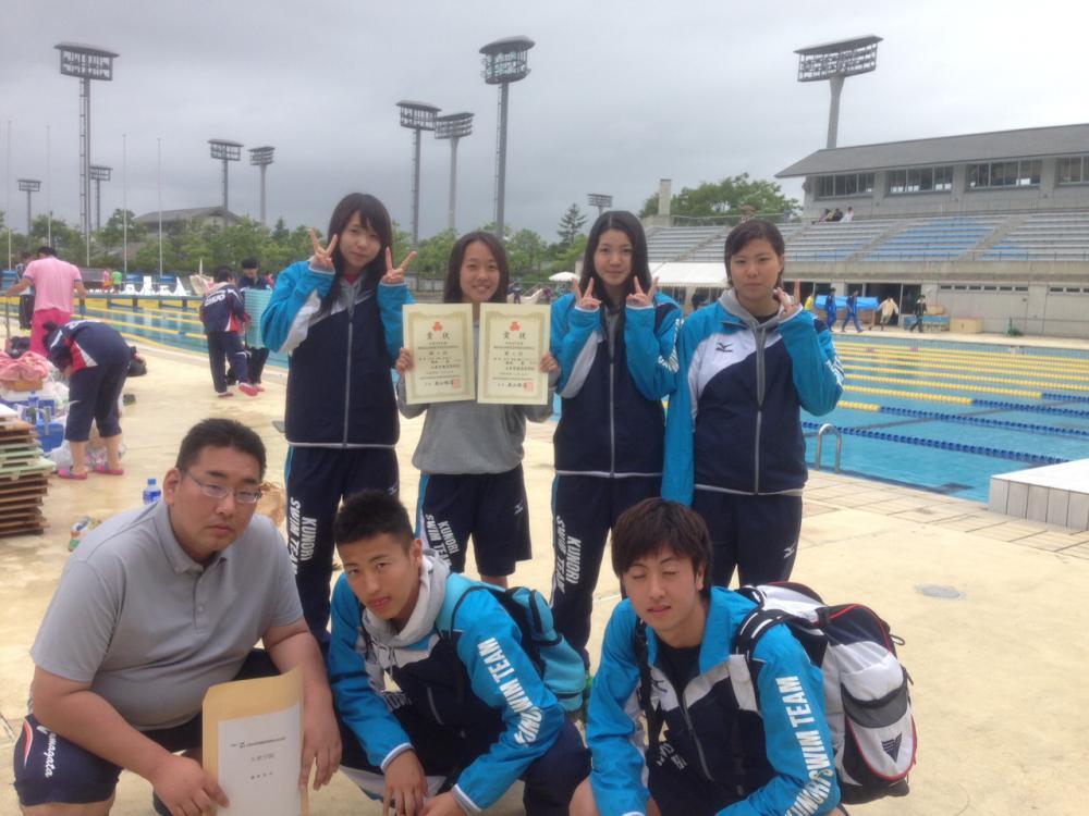 平成27年度 山形県高校総体 水泳競技:画像