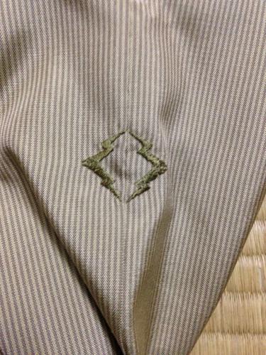 お茶の着物 紋 八掛:画像