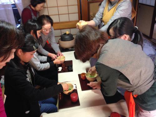 茶道ボランティア