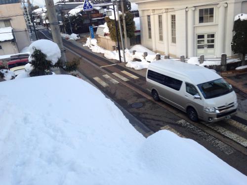 今年 積雪多いです/