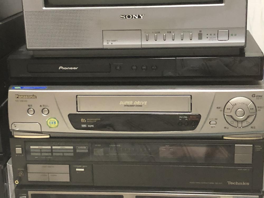 VHS機械を変更