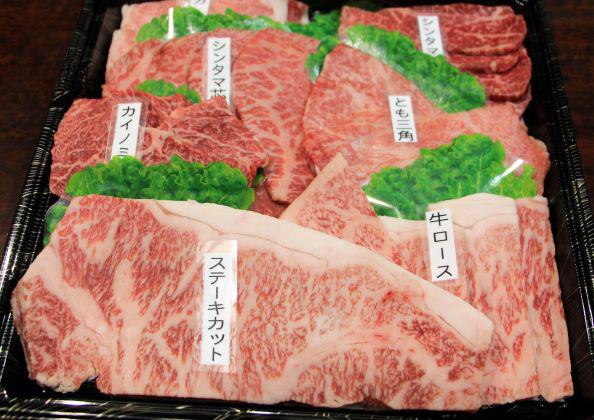 山形牛の盛り合わせ! 10,000円(税込)
