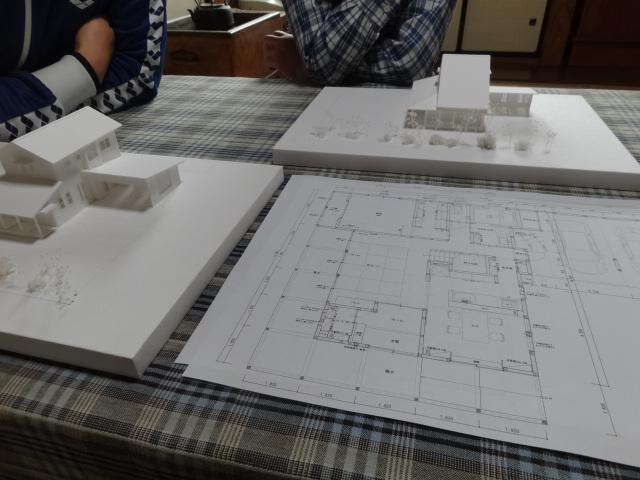 屋根形状決定。【雁木の家】:画像