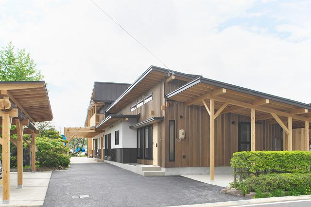 木組み二世帯の家:画像