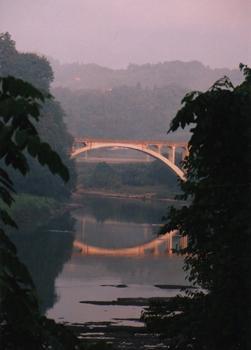 2009/04/18 22:30/旧明鏡橋の思い出