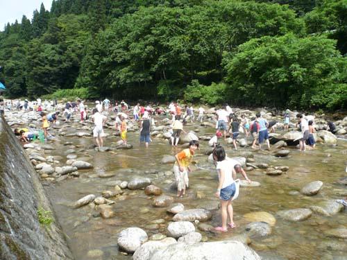 2011/07/17 06:24/【観光イベント】7/31 第29回朝日川渓流まつり