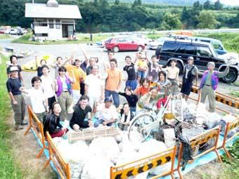 2011/08/15 05:52/【募集】 五百川峡谷クリーンアップ大作戦!