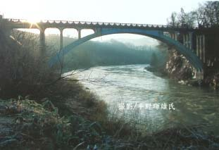 2011/09/07 16:16/旧明鏡橋が紹介されました