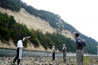 2011/09/19 19:01/【見学会】用のハゲ(明神断崖)の絶景を見る 10/2