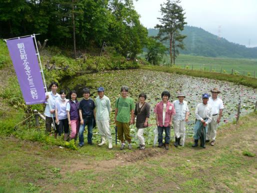 2013/06/03 06:11/大谷の睡蓮ため池が見頃です〈大谷〉