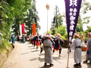 2012/07/14 07:33/八ッ沼 春日神社大祭 「大名行列」8/15