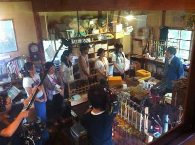 2012/09/29 08:10/朝日町エコミュージアムがTV放送されました