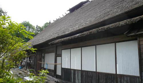 2013/08/17 20:10/【見学会】佐竹家住宅と茅葺き職人8/31