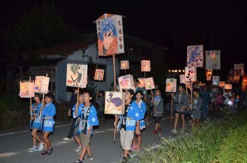 2014/08/18 06:20/大谷風神祭 提灯行列の思い出