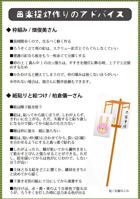 2014/08/21 08:28/田楽提灯作りのアドバイス