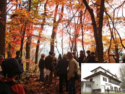 2014/10/17 18:16/旧三中分校と晩秋の八ツ沼城跡めぐり 11/2